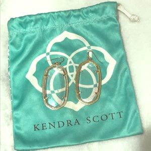 Kendra Scott Danielle Clear Iridescent Earrings